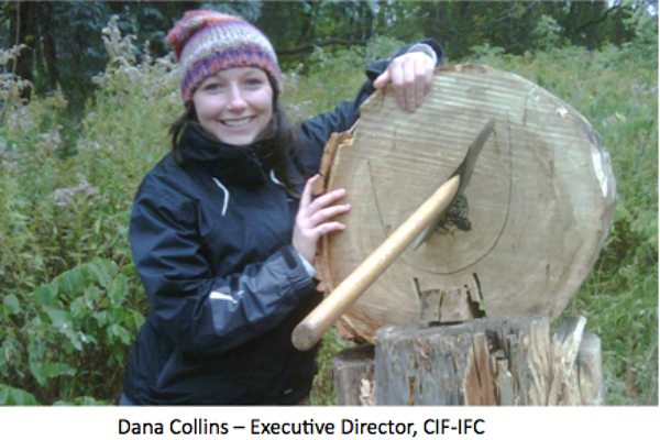 MFC Graduate Dana Collins Appointed new Executive Director of Canadian Institute of Forestry (Effective July 1, 2015)
