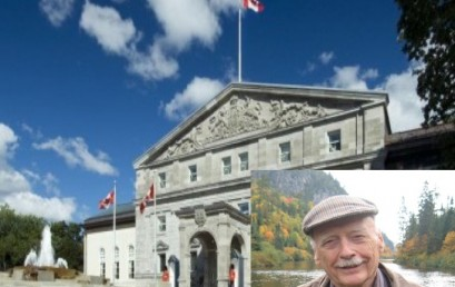 Kenneth Armson inducted as new members of the Order of Canada for his achievements in forest management  & silviculture