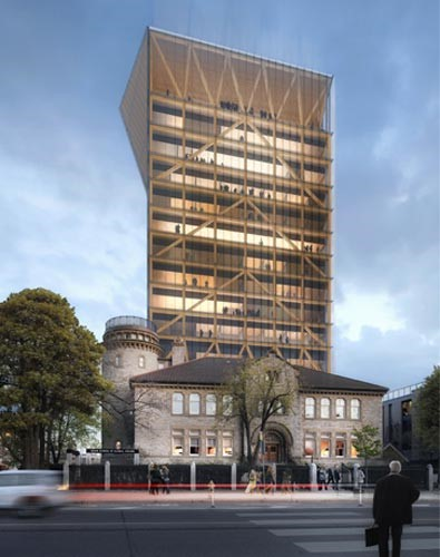 UofT Academic Wood Tower