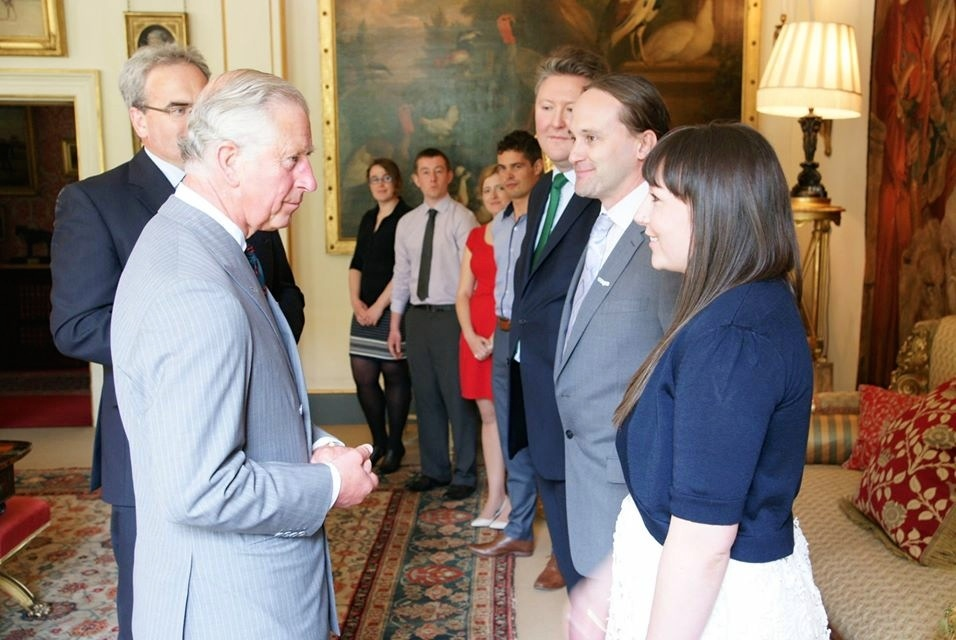 Forestry Graduates Meet The Prince of Wales as they Begin Prestigious International Exchange Program