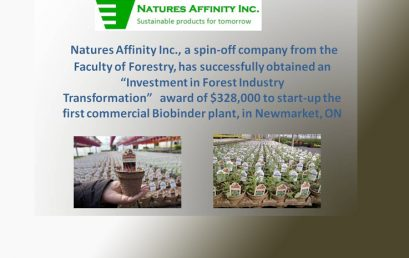 Government of Canada Supports Forest Product Innovation in Ontario