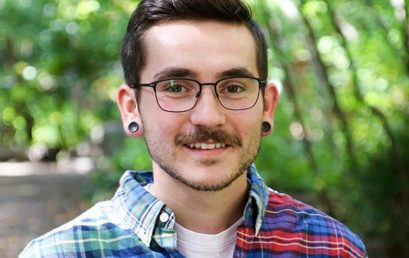 Forestry PhD student Joel Goodwin receives a C. David Naylor University Fellowship