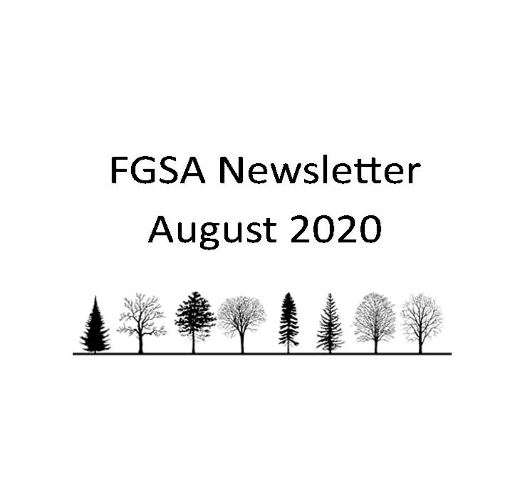 FGSA Newsletter August 2020