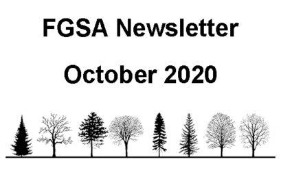 FGSA News Letter October 2020