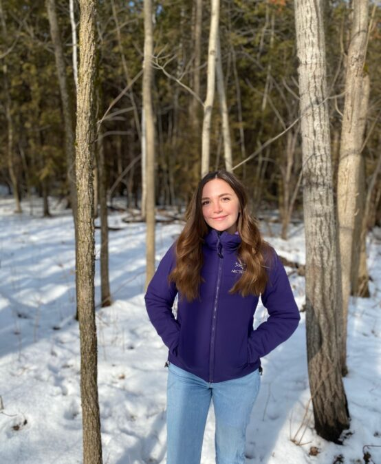 Recent MFC Graduate wins Forests Ontario's White Pine Award