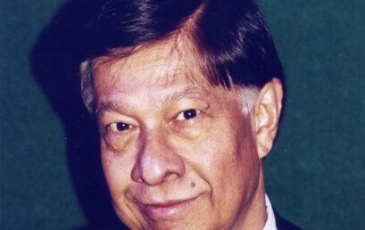 In Memoriam: Professor Emeritus Dibyendu Roy