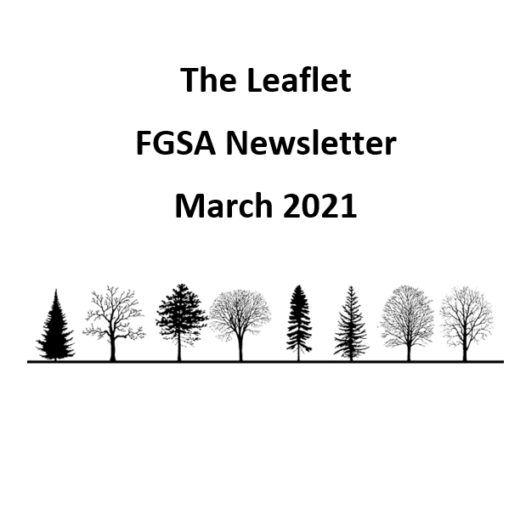 The Leaflet: FGSA's monthly newsletter (March 2021)