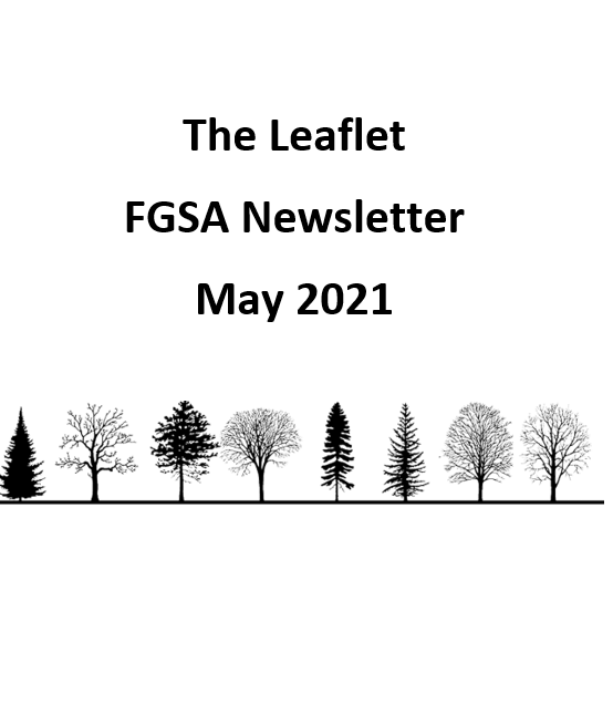 The Leaflet: FGSA's monthly newsletter (May 2021)