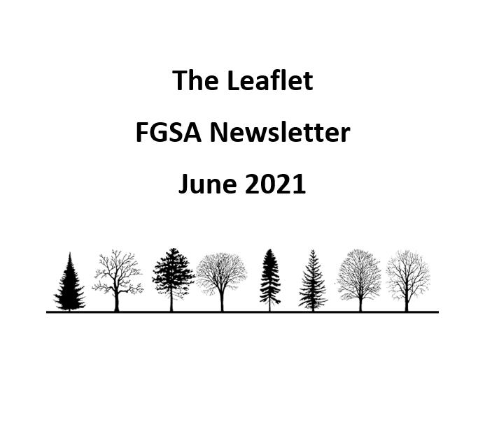 The Leaflet: FGSA's monthly newsletter (June 2021)