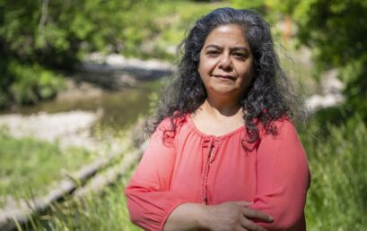 Ambika Tenneti, Foresty PhD student, explores ways to make Toronto's urban forests, ravines more inclusive