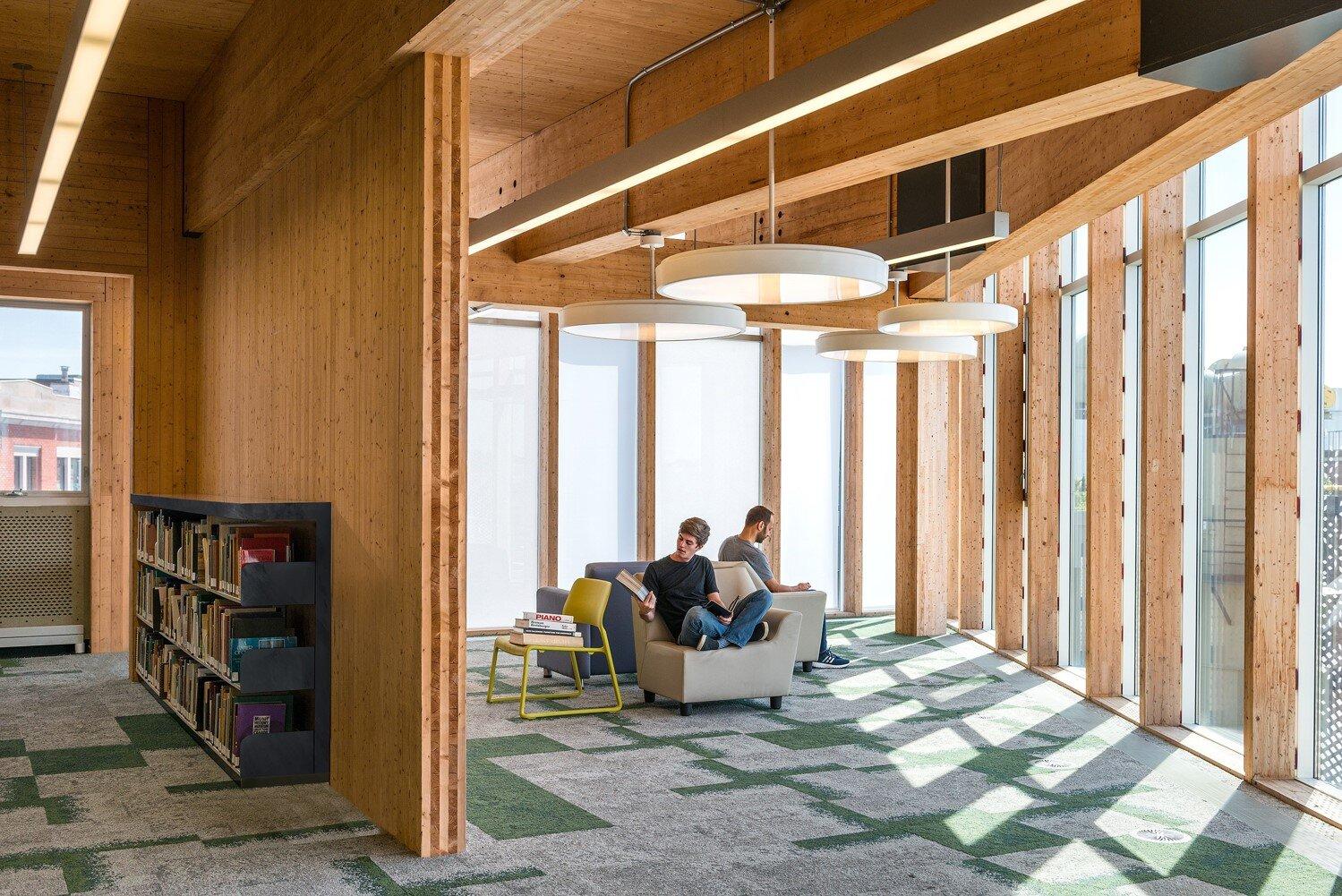 Laurentian University McEwen School of Architecture. Photo credit: Bob Gundu/LGA Architectural