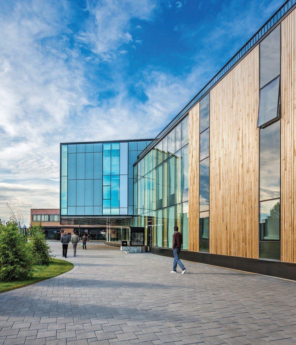 Laurentian University McEwan School of Architecture. Photo credit: Bob Gundu & LGA